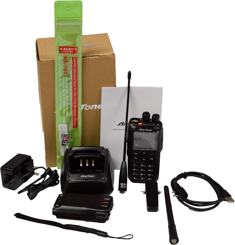 NAGOYA NA-701 144//430MHz Dual Band Flexible Whip Handheld Antenna For Radio