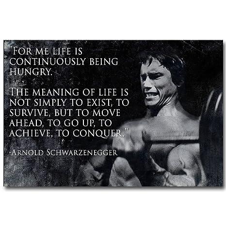 Amazon com: 13X20Inch Arnold Schwarzenegger Bodybuilding