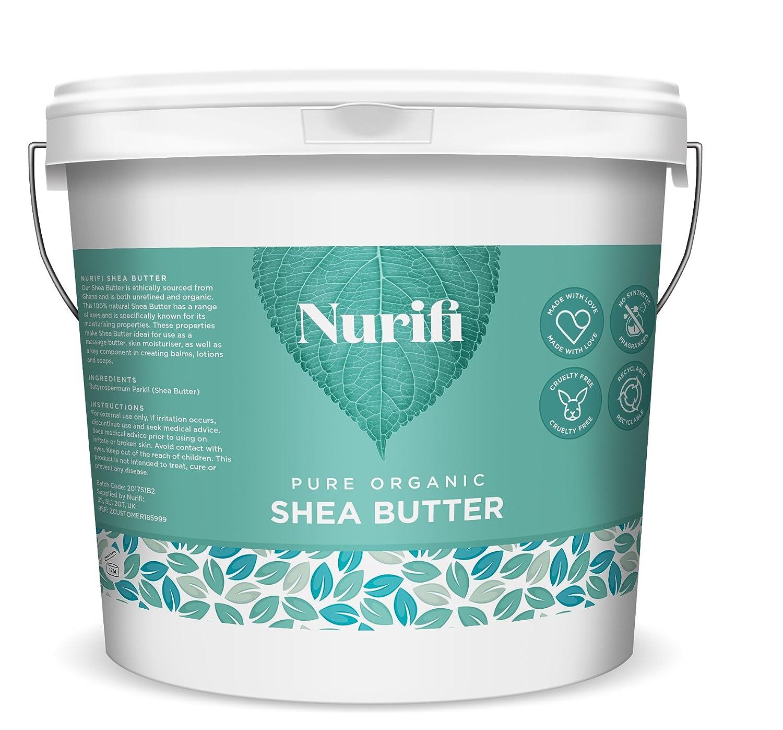 Manteca de karité sin refinar Nurifi, 100 % pura, natural y ...