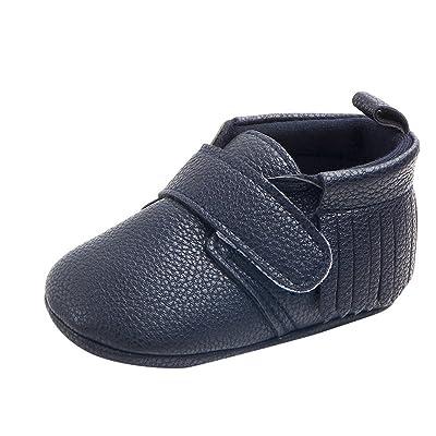 Sunenjoy Bébé Garçons Filles Chaussures Tassel Baseball Doux Uniformes Occasionnels Chaussures Baskets Mode Chaussures Premiers Bottines pour Tout-petits
