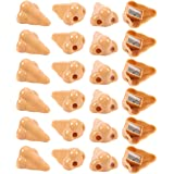 Nose Pencil Sharpeners - Set of 24 Hand Held Plastic Pencil Sharpeners, Manual Sharpeners, Great as Novelty Party Favors, Party Stuffers, Gag Gifts, 1.7 x 1 x 2.2 Inches