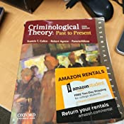 criminological theory past to present pdf