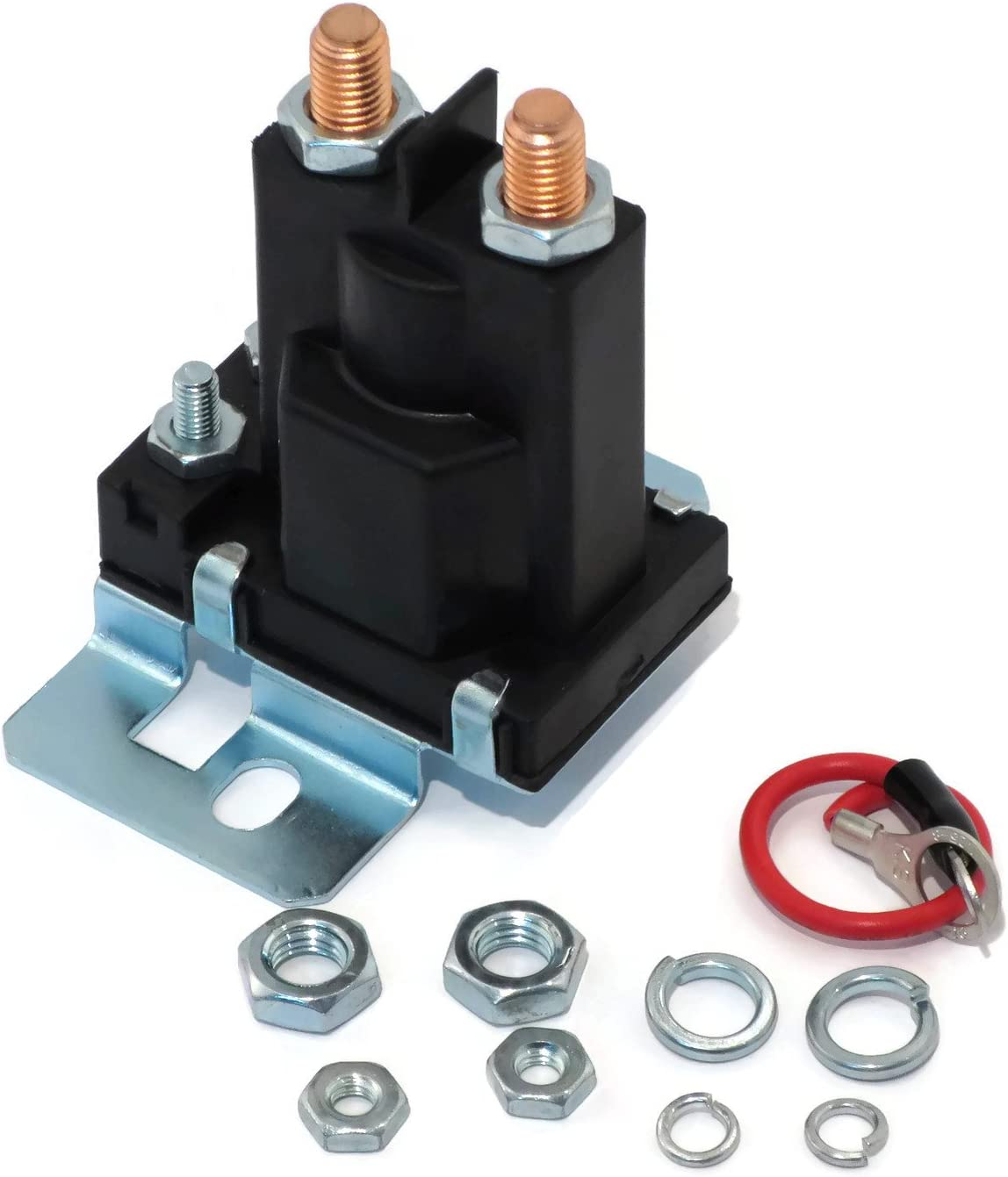 New Relay Solenoid for Western Fisher Meyers Snowplows 4 Post w/ Hardware