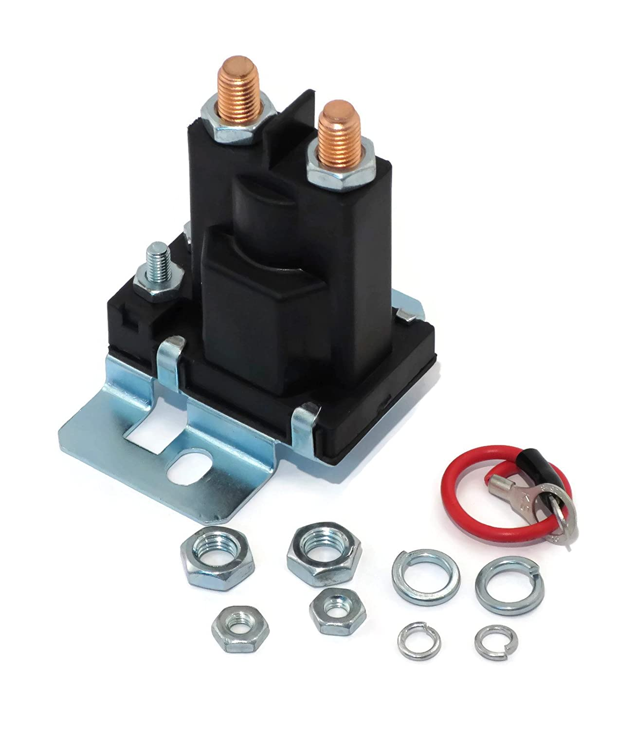 New Relay Solenoid for Western Fisher Meyers Snowplows 4 Post w/ Hardware Buyers
