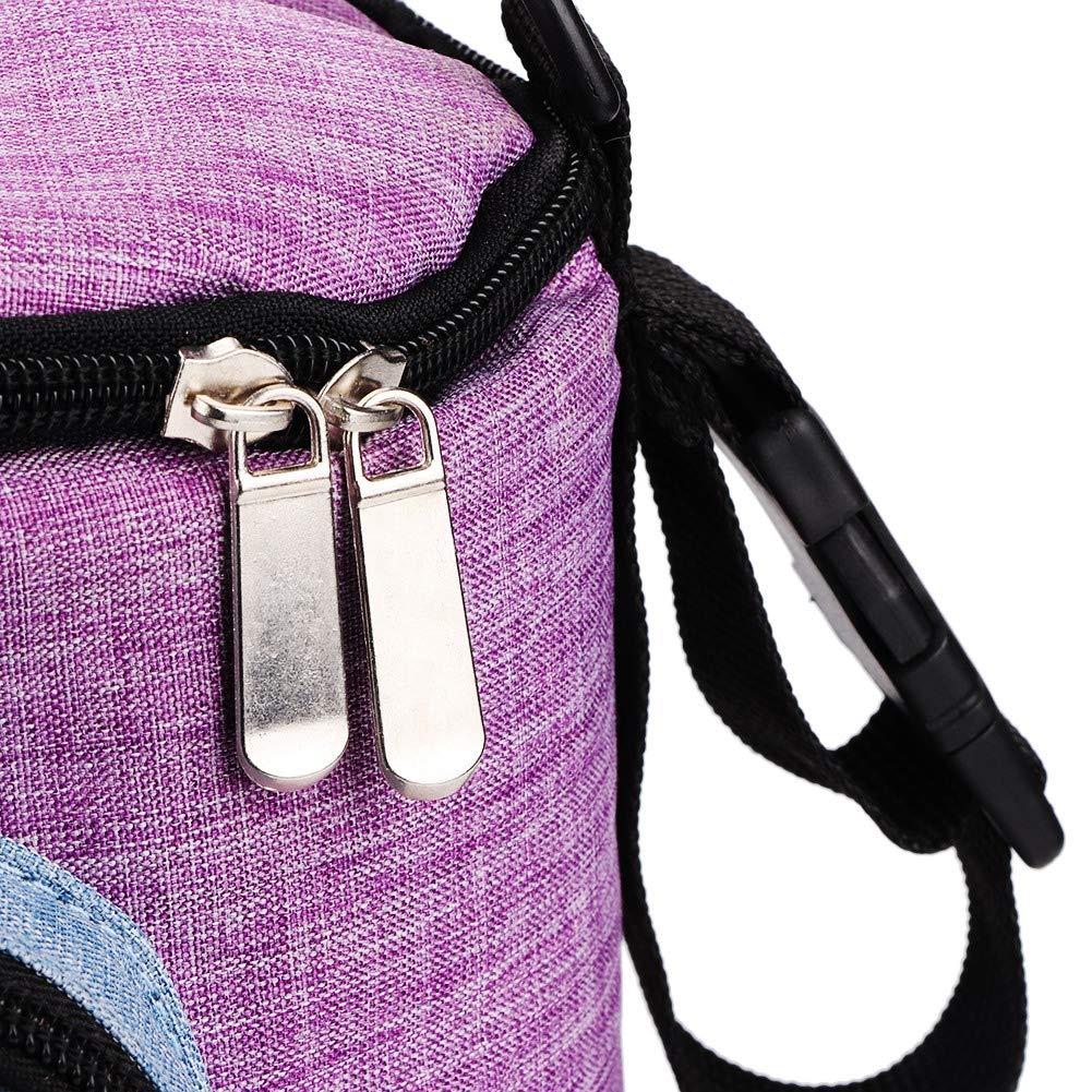 Kinderwagen Organizer Eltern Kinderwagen Lagerung Kleinkinder Wickeltasche Mehrere Taschen Reisetasche Blau + Grau