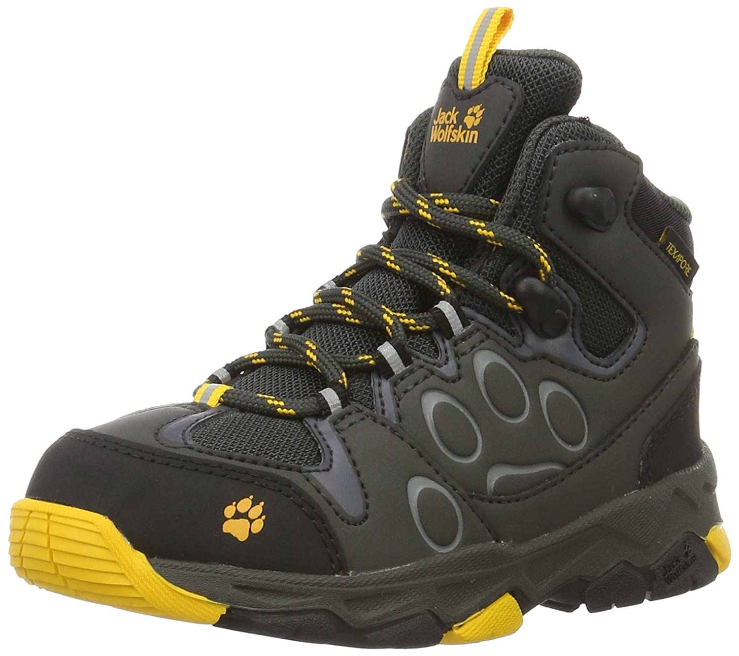 Jack Wolfskin Kids Mens Mountain Attack 2 Texapore Mid (Toddler/Little Kid/Big Kid)