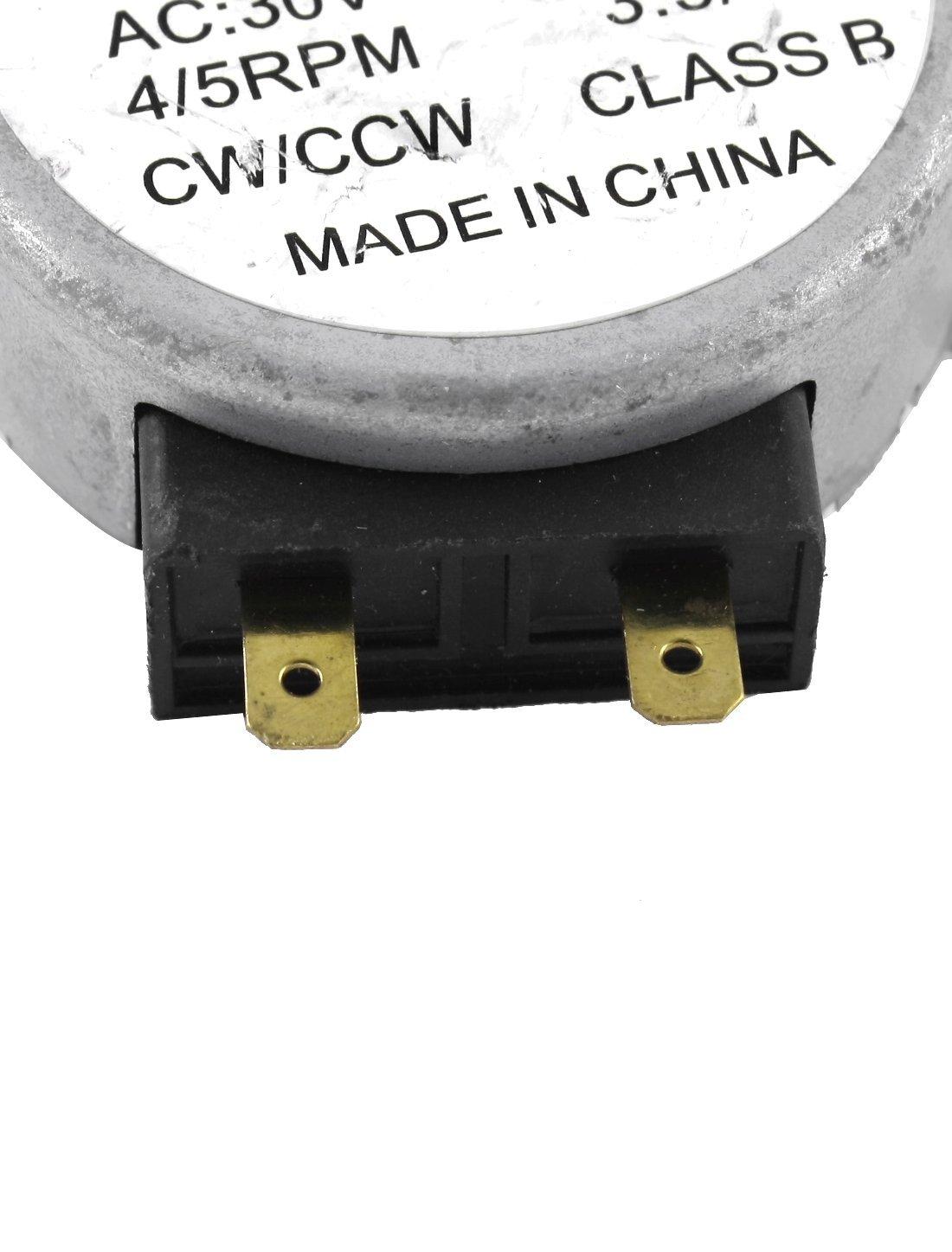 AC 30V 3.5 / 4W 4/5 rpm Synchronous Motor 49TYZ para Microondas ...