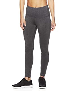 d46233d9d30c7 Reebok Women's High Rise Leggings Performance Compression Pants