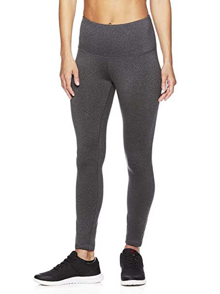 93a142cb0dae93 Reebok Women's High Rise Leggings Performance Compression Pants: Amazon.ca:  Clothing & Accessories