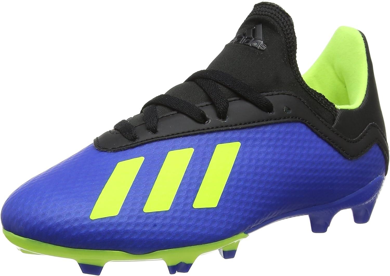 Noble perdí mi camino Popa  adidas X 18.3 FG J, Botas de fútbol Niños: Amazon.es: Zapatos y complementos