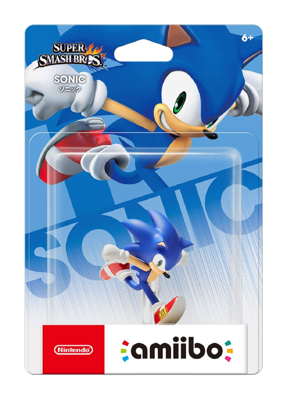 Sonic amiibo - Japan Import (Super Smash Bros Series) by Nintendo (Image #2)