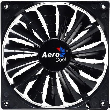 Aerocool SHARK - Ventilador gaming para PC (12 cm, 12V/7V, 15 ...