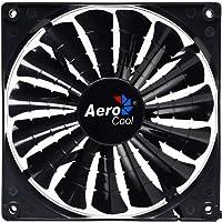 Cooler Fan 12Cm Shark Black Edition Led En55413, Aerocool, Acessórios para Computador, Preto