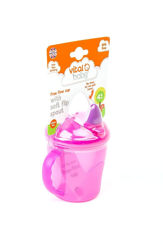 Vital Baby Gobelet /à d/ébit gratuit Rose Et Violet