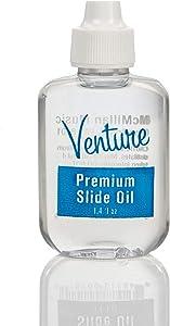 Venture 103 1.4 fl.oz Premium Trombone Slide Oil, Packaging may vary