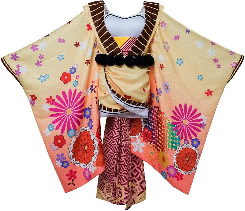 COSTHAT Fate Grand Order Ibaraki Doji Cosplay Costume FGO Berserker Ibaraki Kimono Suit