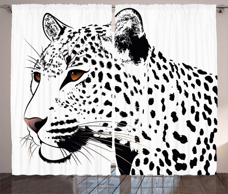 ABAKUHAUS Tatuaje Cortinas, Las Manchas del Leopardo del Gato ...