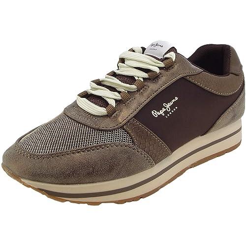 Pepe Jeans Sally Sky, Zapatillas para Mujer: Amazon.es: Zapatos y complementos