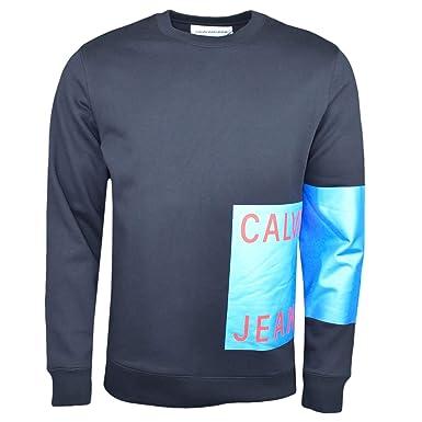 Calvin Klein - Sudadera - Chaqueta - para Hombre Negro XS: Amazon.es: Ropa y accesorios