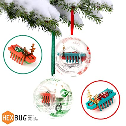 Hexbug Nano Christmas Ornament, 2 Pack, Green & Red - Amazon.com: Hexbug Nano Christmas Ornament, 2 Pack, Green & Red