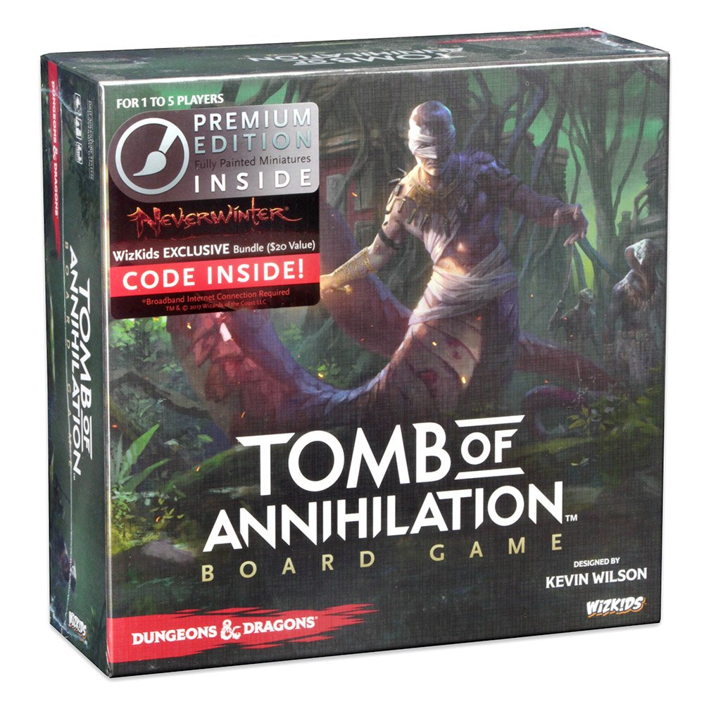 WizKids Tomb of Annihilation (Premium Edition) Board Games by WizKids