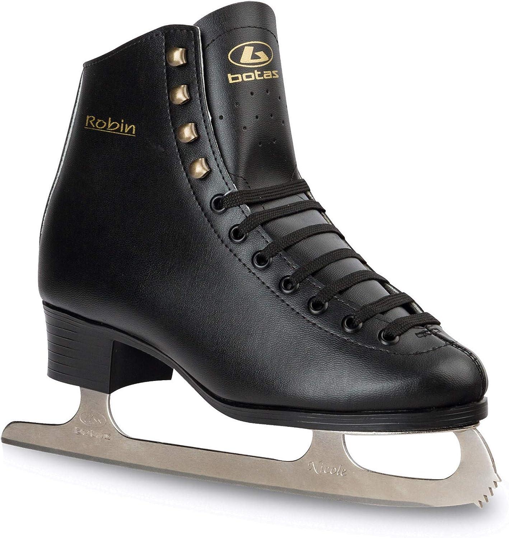 Made in Europe Draft 281 Botas Czech Republic Mens Ice Hockey Skates | Color: Black