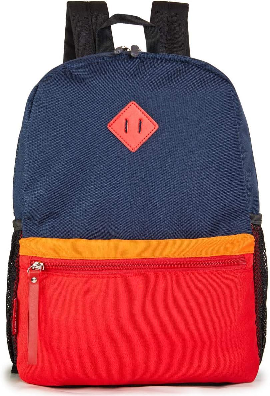 HawLander Preschool Backpack for Toddler Little Kid School Bag for Boy Navy-blue