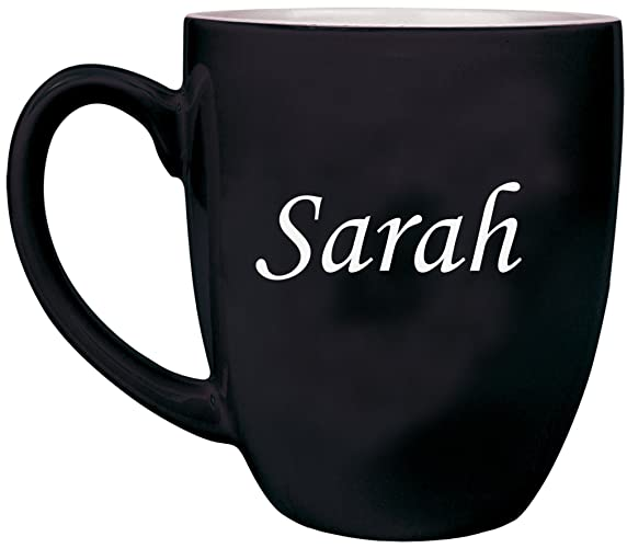 amazon com any text custom engraved coffee mug laser engraved