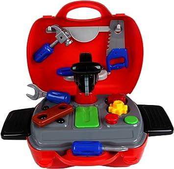 YIER Toddler Toys en Caja Set de Herramientas de Juguete de los ...