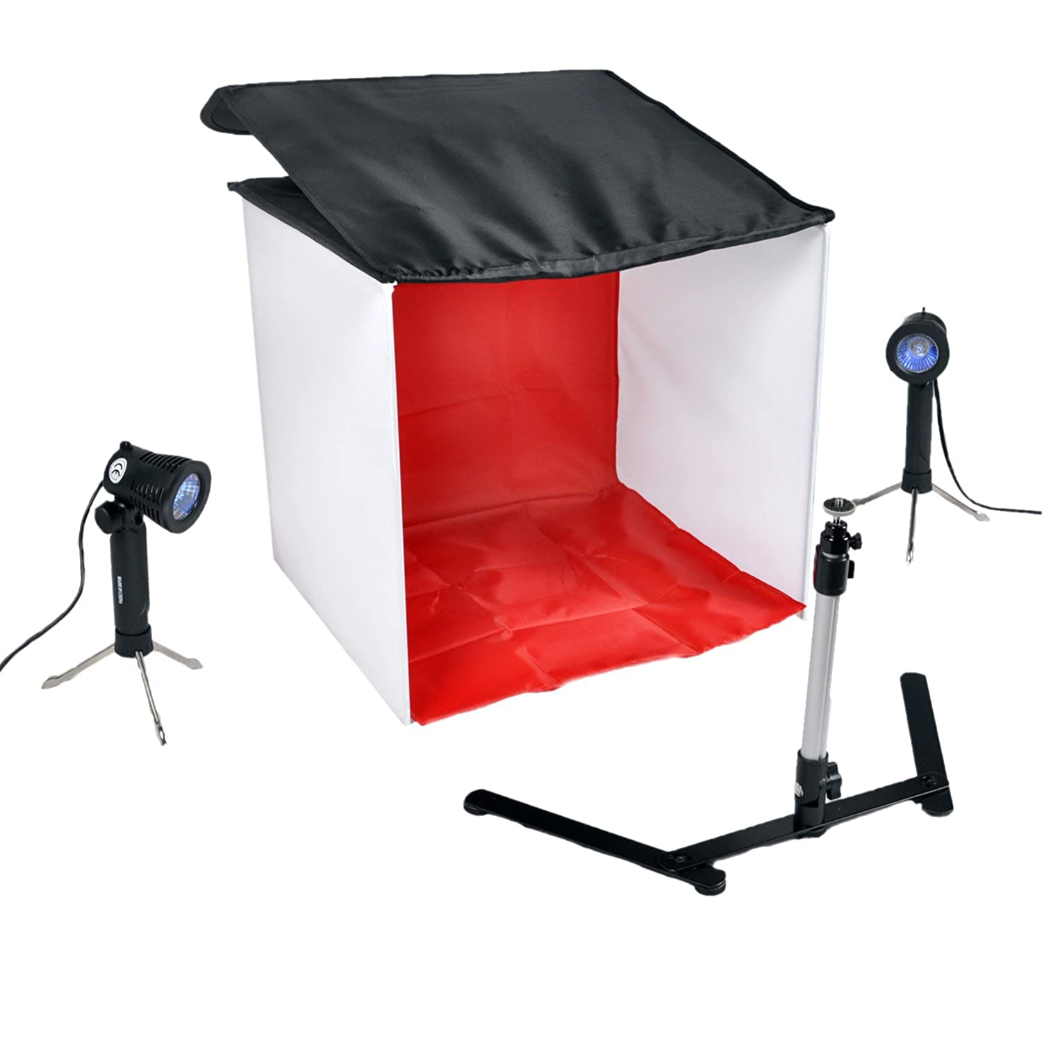 Amazon.com : CowboyStudio Table Top Photo Studio Light Tent Kit in a ...