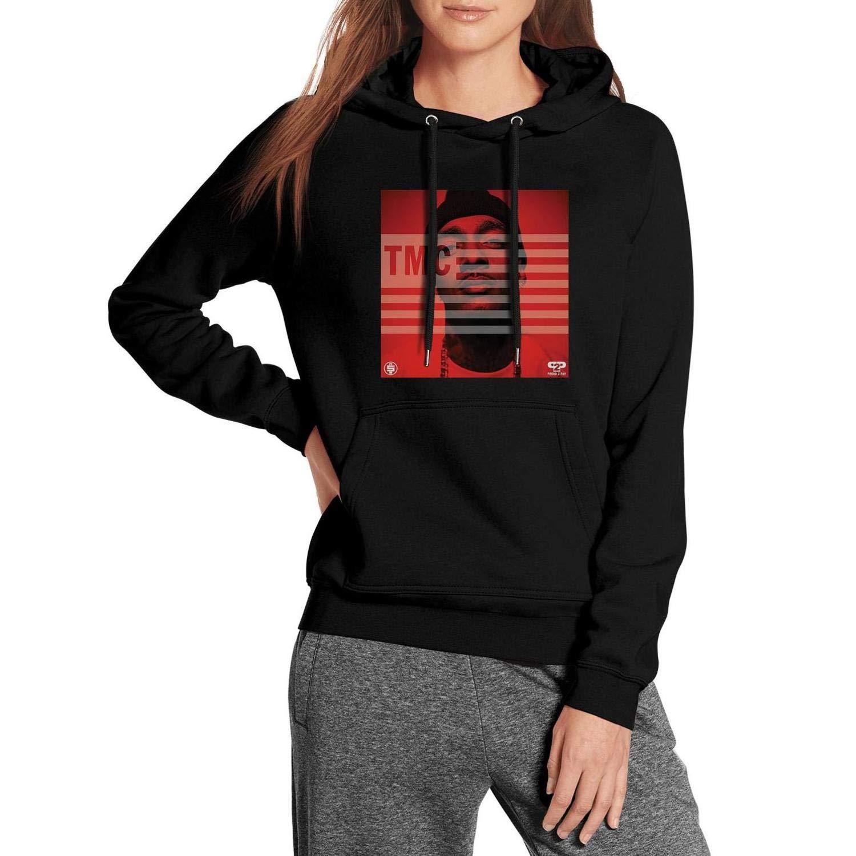 fdba727e4 Amazon.com: Women's Black Pullover Outdoor Nipsey-Hussle-TMC-The ...