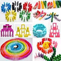 Magicwand Colourful Wooden Stacking Blocks Game for Kids - 240 Pieces