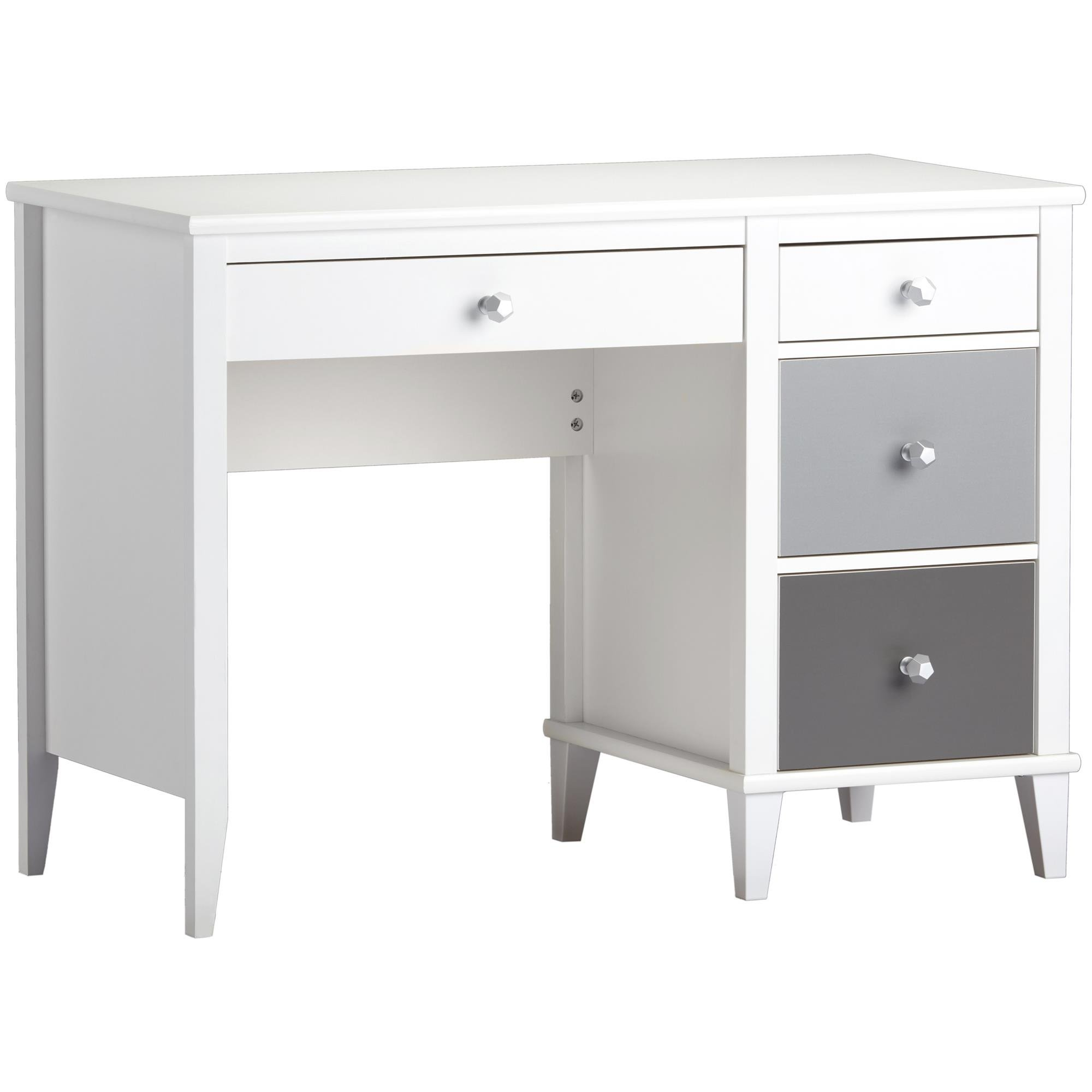 Little Seeds Monarch Hill Poppy Desk, White/Gray
