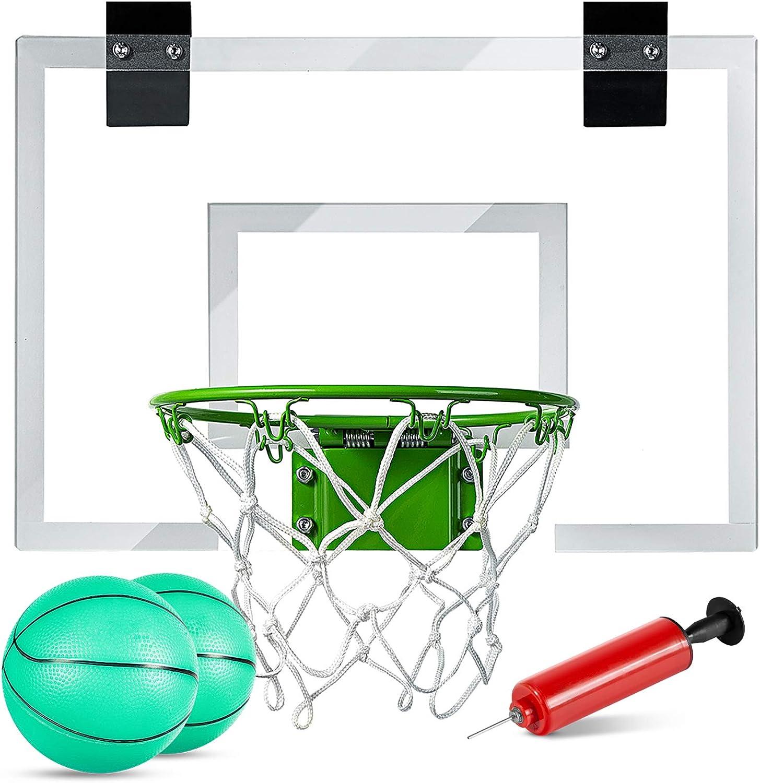 Mini Basketball Hoop - Glow In The Dark: Sports & Outdoors