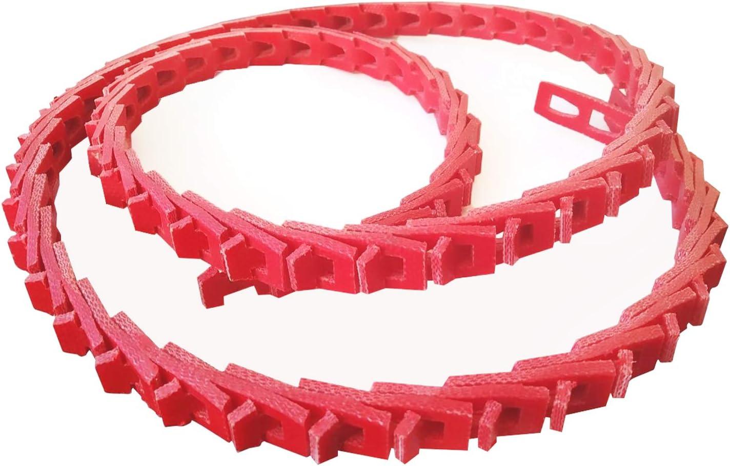 Link belt, adjustable drive belt, twist v belt 1/2 inch x 4 foot