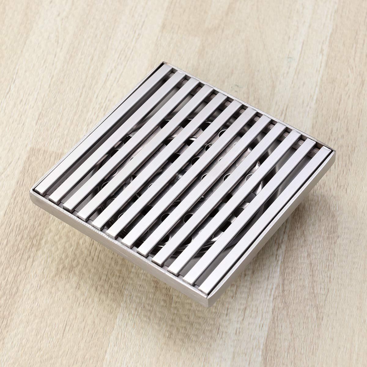 TOPBATHY 10CM Dusche Bodenablauf Badablauf Deodorant Verschiebung Ablauf f/ür Badezimmer Duschbad