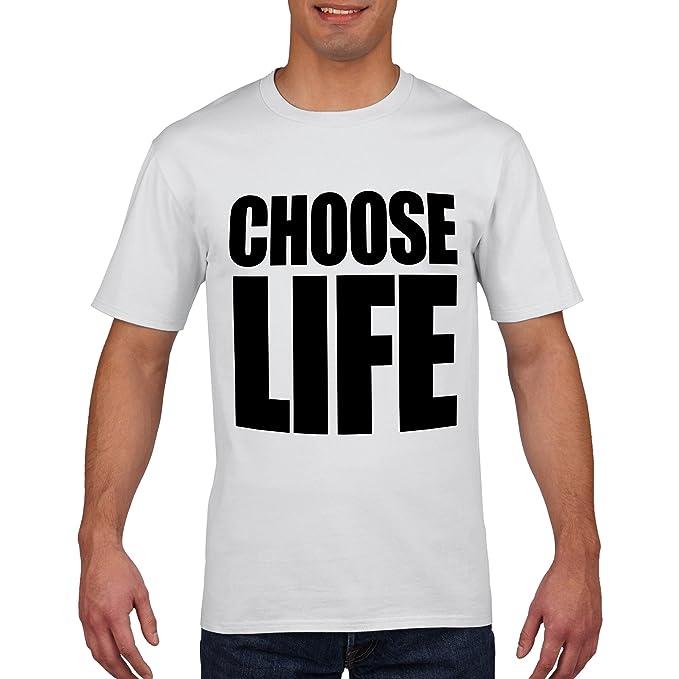 b199c5158 Choose Life Wham Retro 80s T Shirt Fancy Dress: Amazon.co.uk: Clothing