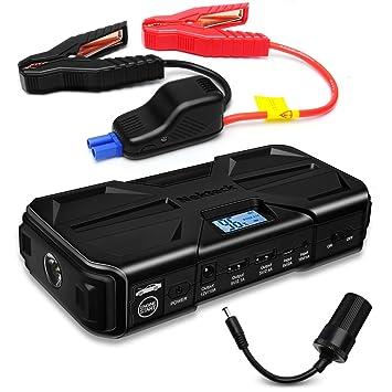 Batería portátil de arranque multifuncional Nekteck, 800A de pico, 20 000mAh, batería de