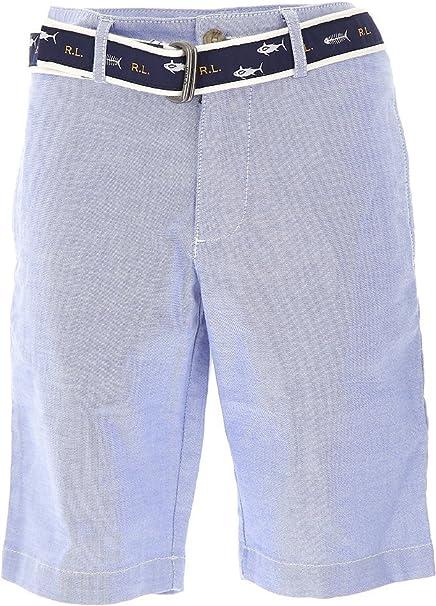 Polo Ralph Lauren - Slim Short BT SHO - Bermuda Azul NIÑO ...
