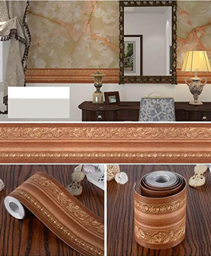 Peel And Stick 3d Waterproof Border Wallpaper Vintage