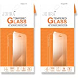Johra Real HD+Tempered Glass for TCL 562 Tempered Glass - Pack of 2