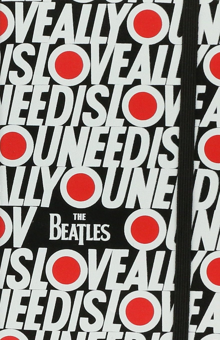 Moleskine the Beatles Limited Edition Notebook Pocket Ruled Black - All You Need Is Love PDF