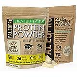 PaleoPro Protein Powder, Gluten Free, Dairy Free, Whey Free, Soy Free, No Added Hormones, Pastured Grass-fed Beef…
