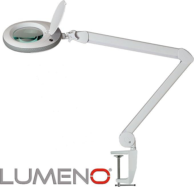 Lumeno Lámpara Lupa, lámpara de Trabajo, lámpara cosmética con 96 ...