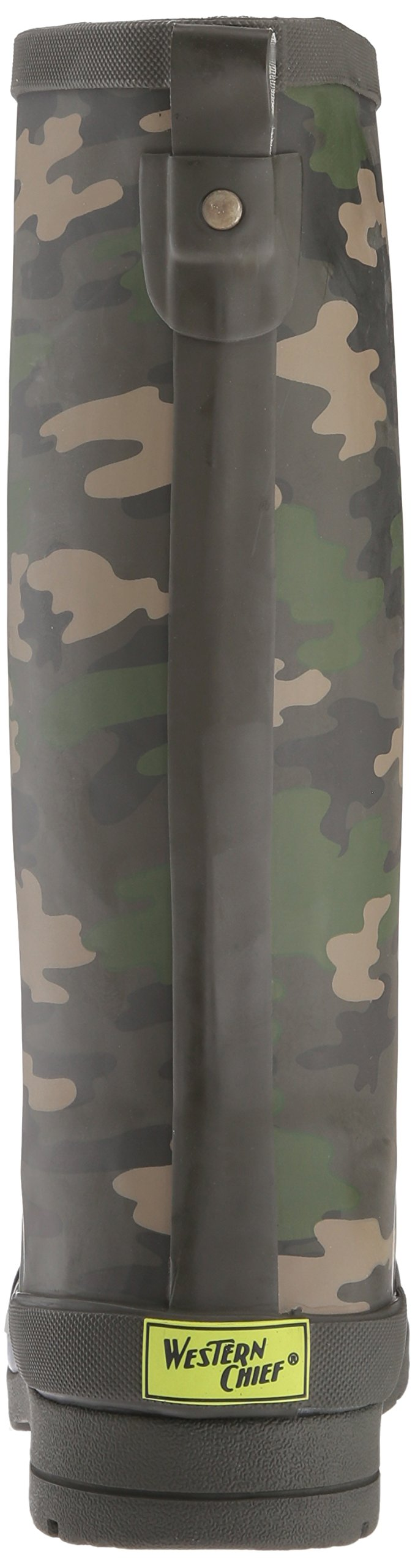Western Chief Boys Waterproof Classic Youth size Rain Boots, Camo Green, 13 M US Little Kid by Western Chief (Image #2)