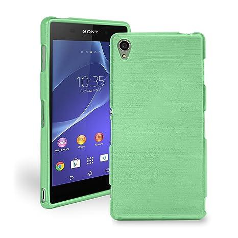Caja del teléfono móvil Carcasa marco Sony Xperia Z3 F, funda carcasa funda móvil Smartphone protección TPU diseño protección/silicona