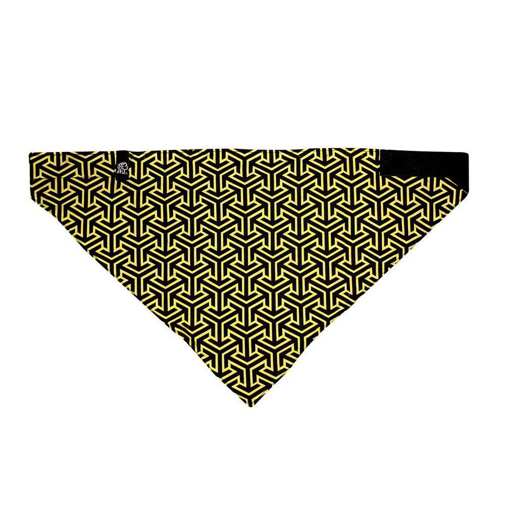 ZANheadgear BVF141 Fleece Lined 3-IN-1 Bandanna, Trigonometry