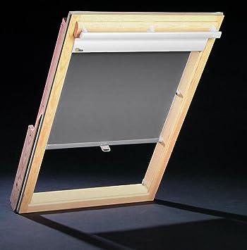 Velux dachfenster great hdm cm dunkelgrau dachfenster rollo thermorollo sonnen sichtschutz fr - Velux fenster einstellen ...