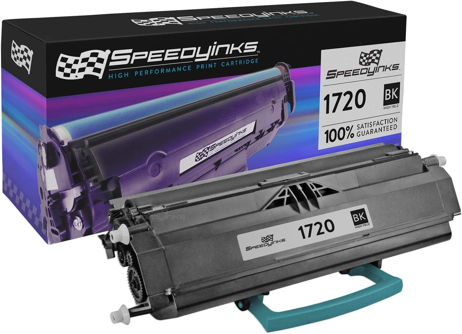 Speedy Inks Remanufactured Toner Cartridge Replacement for Dell 310-8707 (Black)