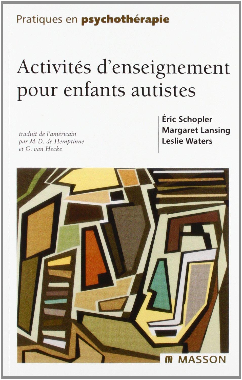 Bien-aimé Amazon.fr - Activités d'enseignement pour enfants autistes - Éric  LL72